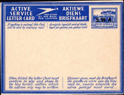 South West Africa 1942 Kessler 108 air letter