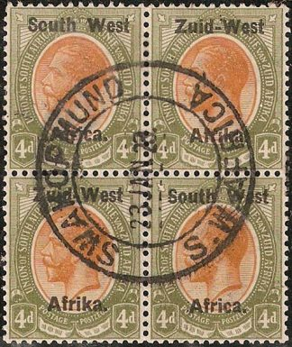 South West Africa 4d SG5