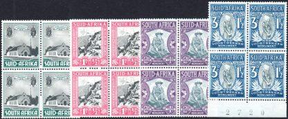 1933-6 Voortrekker Memorial Fund set