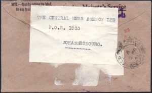 South Africa Field Post Office cover