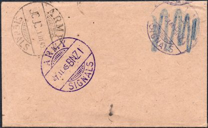 South Africa 1945 Army Signals cover
