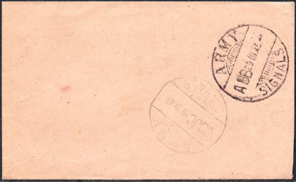 South Africa Army Signals postmarks