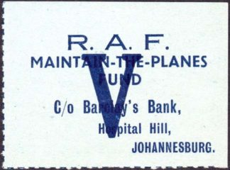 South Africa RAF maintain the planes fund label